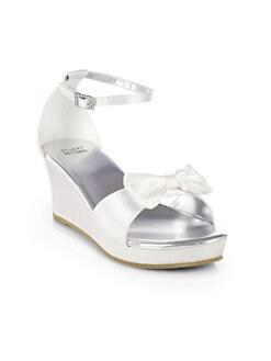 Stuart Weitzman - Girl's Azore Wedge Sandals