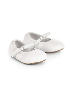 Stuart Weitzman - Infant's Baby Gardenia Ballet Flats