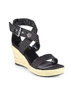 Stuart Weitzman - Swinger Espadrille Wedge Sandals
