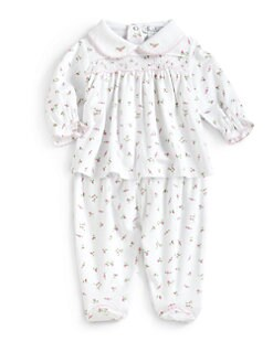 Kissy Kissy - Infant's Garden Roses Top & Pants Set