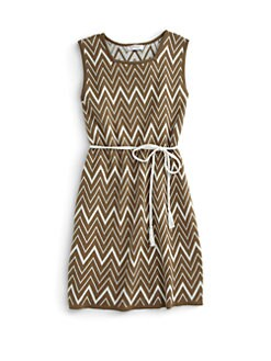 KC Parker - Girl's Cotton Tribal Knit Dress