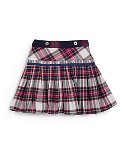 Hartstrings - Toddler's & Little Girl's Pleated Plaid Skirt