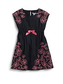 Hartstrings - Toddler's & Little Girl's Floral Embroidered Dress