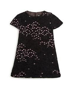 Isabel Garreton - Little Girl's Cozy A-line Dot Dress