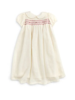 Isabel Garreton - Toddler's Lacy Knit Smocked Dress