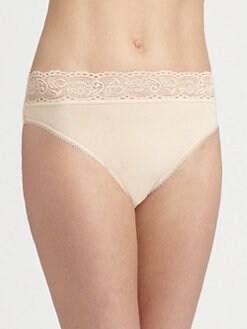 Wacoal - Supima Hi-Cut Brief