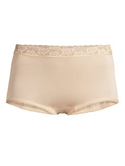 Wacoal - Lace-Trim High-Cut Panty