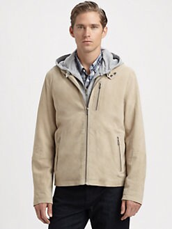 Michael Kors - Suede Racer Jacket