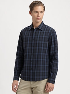 Michael Kors - Grant Check Tailored Sportshirt