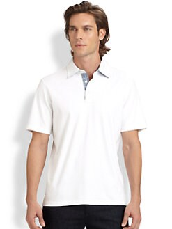 Michael Kors - Contrast Bias Trim Polo