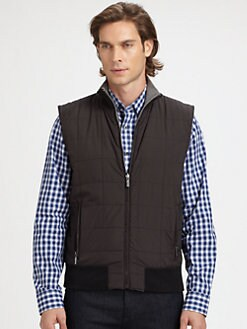 Michael Kors - Reversible Fleece Vest