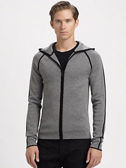 Michael Kors - Hooded Wool Cardigan