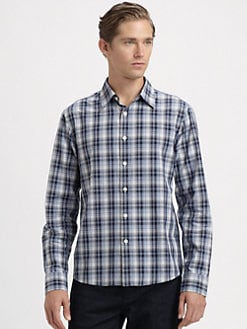 Michael Kors - Ripley Check Tailored Shirt