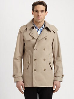 Michael Kors - Hooded Trenchcoat