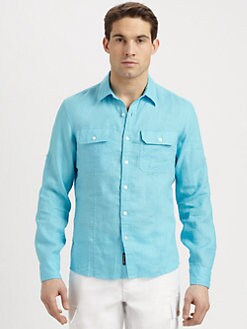 Michael Kors - Linen Sportshirt