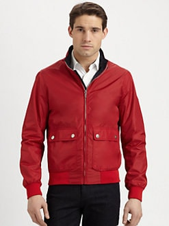 Michael Kors - Nylon Bomber Jacket