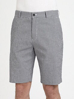 Michael Kors - Mini-Gingham Shorts
