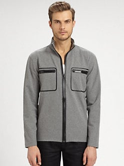 Michael Kors - Zip-Up Cotton Jacket