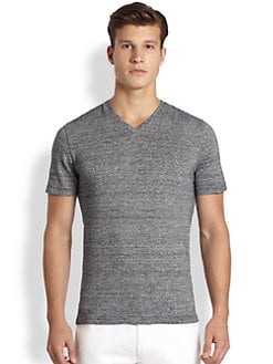Michael Kors - Micro-Striped T-Shirt