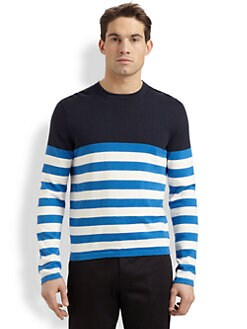 Michael Kors - Striped Crewneck