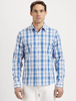 Michael Kors - Plaid Tailored Sportshirt