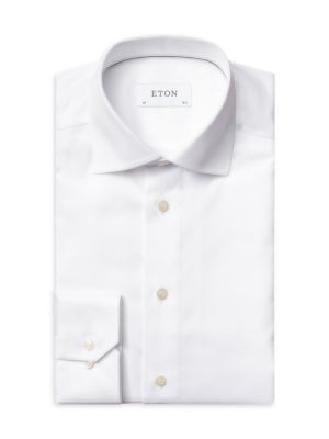 Contemporary Fit Twill Dress Shirt