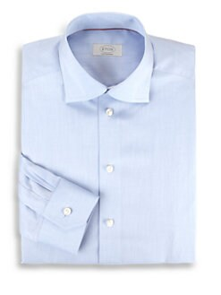 Eton of Sweden - Contemporary-Fit Solid Dress Shirt