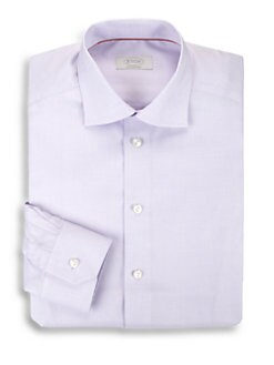 Eton of Sweden - Contemporary-Fit Herringbone Dress Shirt
