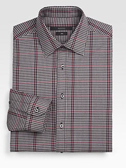 Gucci - Plaid Cotton Sportshirt