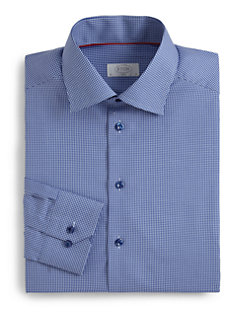 Eton of Sweden - Slim-Fit Gingham Check Dress Shirt
