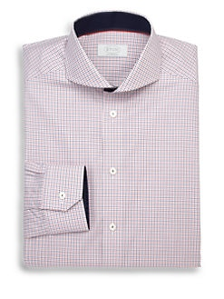 Eton of Sweden - Contemporary-Fit Check Dress Shirt