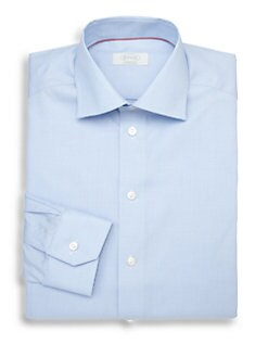 Eton of Sweden - Contemporary-Fit Micro Gingham Dress Shirt