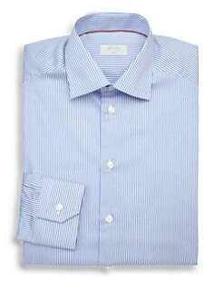 Eton of Sweden - Contemporary-Fit Bengal Stripe Dress Shirt
