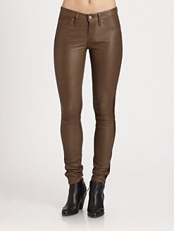 Marc by Marc Jacobs - Mirah Leather & Suede Pants