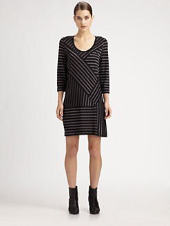 Marc by Marc Jacobs - Smith Striped Jersey Dress