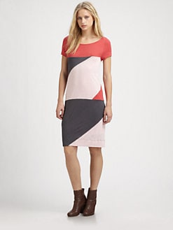 Marc by Marc Jacobs - Tanya Jersey Colorblock Dress