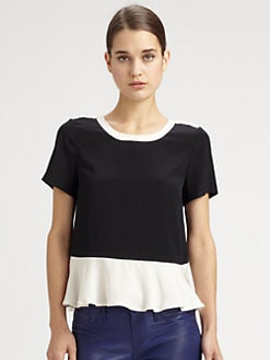 Marc by Marc Jacobs - Silk Avery Top