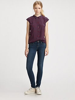 Marc by Marc Jacobs - Izzy Silk Crepe de Chine Blouse
