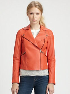 Marc by Marc Jacobs - Jett Leather Jacket
