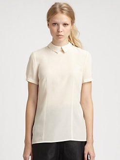 Marc by Marc Jacobs - Bowery Silk Crepe de Chine Blouse