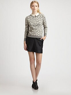 Marc by Marc Jacobs - Lita Cheetah Sweater