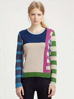 Marc by Marc Jacobs - Drew Stripe Sweater