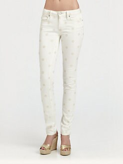 Marc by Marc Jacobs - Lou Polka Dot Skinny Jeans