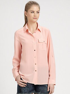 Marc by Marc Jacobs - Erin Silk Shirt