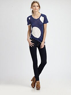 Marc by Marc Jacobs - Velma Polka Dot Tee