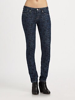 Marc by Marc Jacobs - Lou Printed Skinny Jeans