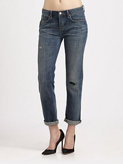 Marc by Marc Jacobs - Jessie Crop Boyfriend Jeans