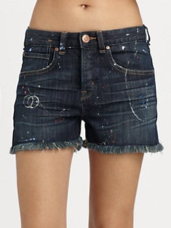 Marc by Marc Jacobs - Kent Painter Cut-Off Shorts
