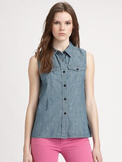 Marc by Marc Jacobs - Corey Chambray Shirt