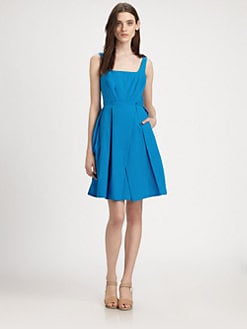 Marc by Marc Jacobs - Justine Pleated Cotton Dress